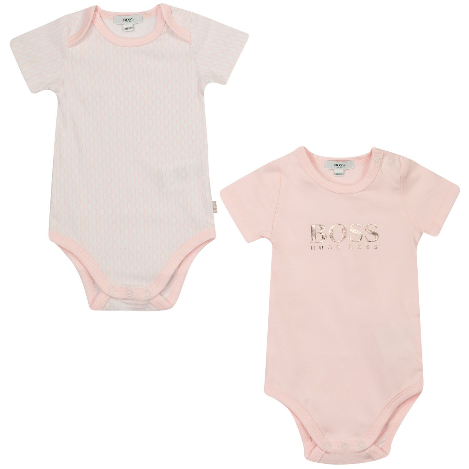 Picture of Boss J98320 rompersuit light pink