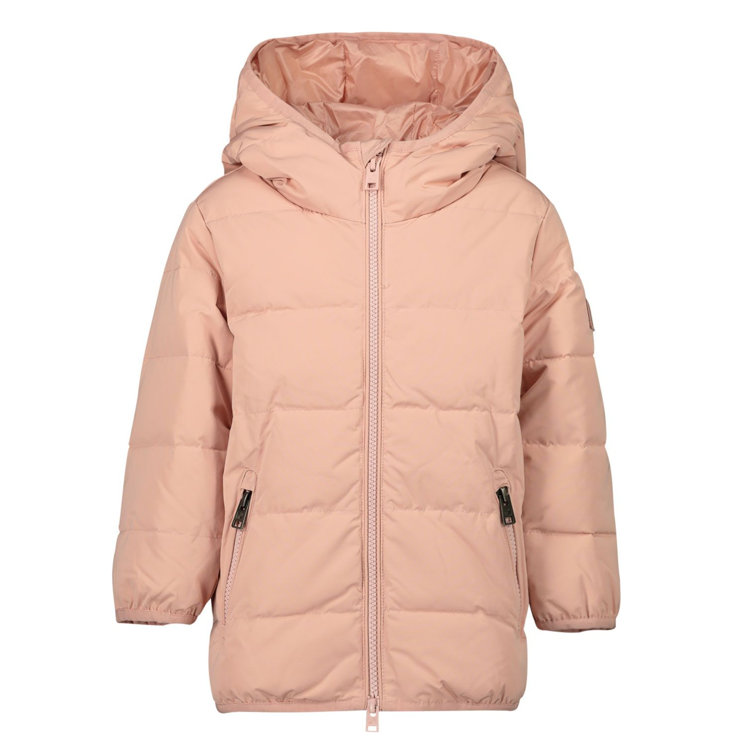 Picture of Woolrich WKOU0144MR baby coat light pink