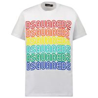 Picture of Dsquared2 DQ0189 kids t-shirt white