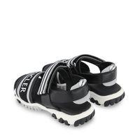 Picture of Moncler 4L70000 kids sandals black