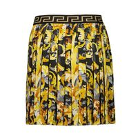 Picture of Versace 1000240 1A01390 kids skirt black