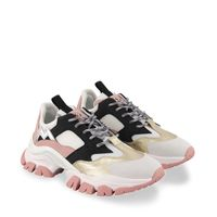 Picture of Moncler 4M70700 kids sneakers light pink