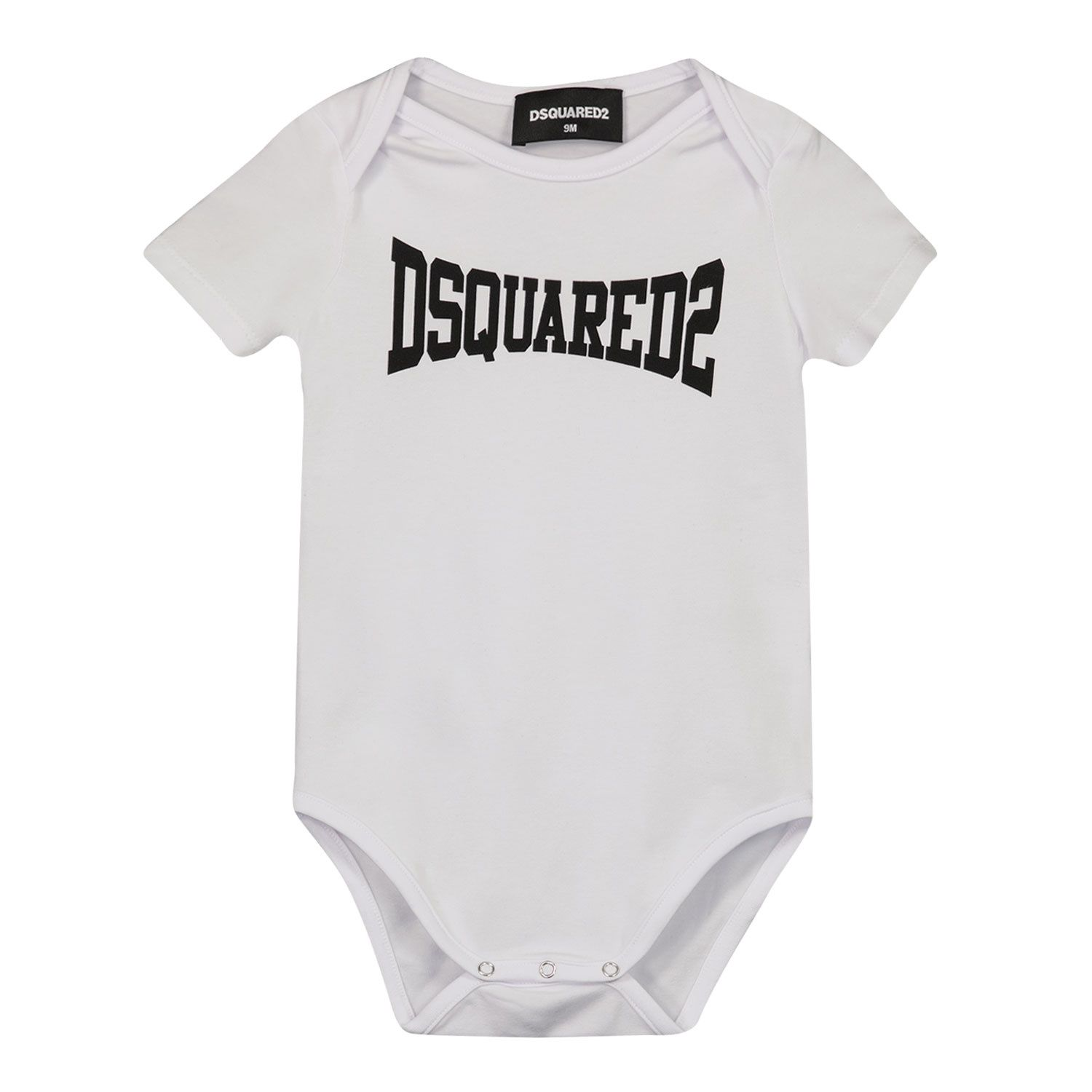 Picture of Dsquared2 DQ0185 rompersuit white