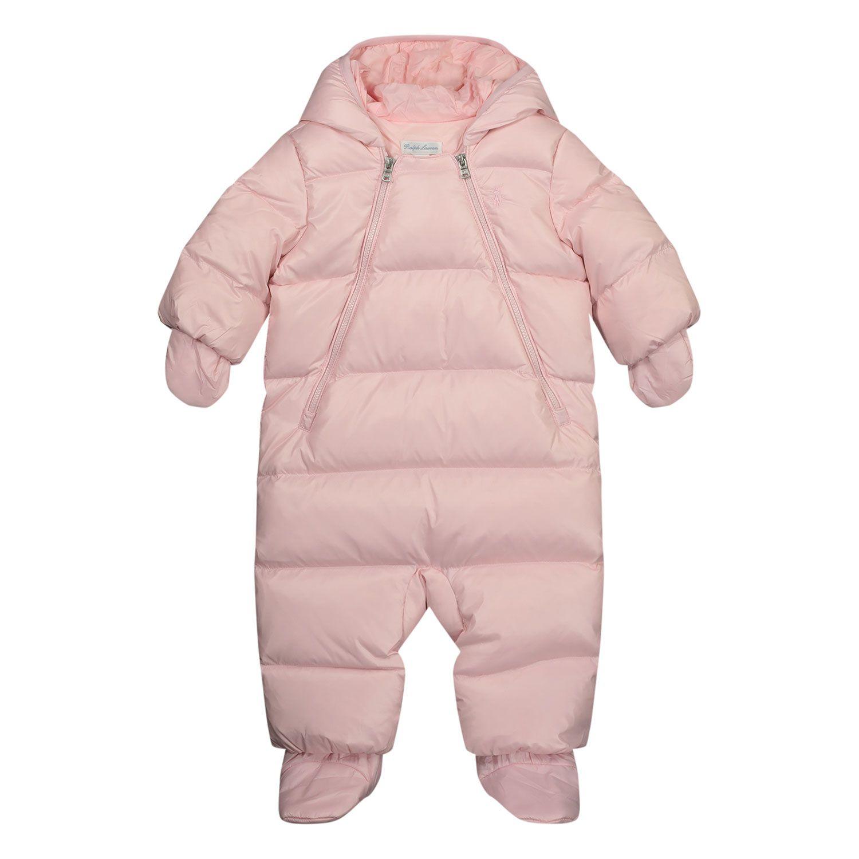 Bild von Ralph Lauren 310798530 Baby-Schneeanzug Hellrosa