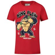 Afbeelding van Philipp Plein F20C BTK1021 kinder t-shirt rood