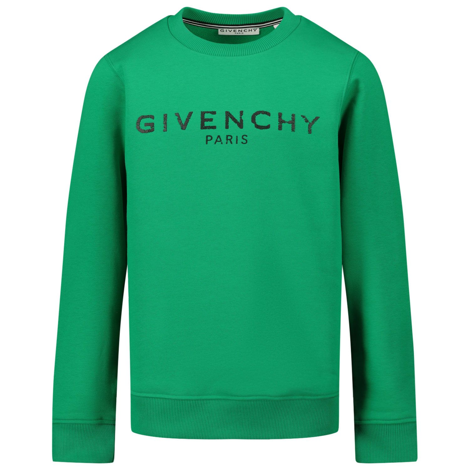 Picture of Givenchy H25J45 kids sweater green