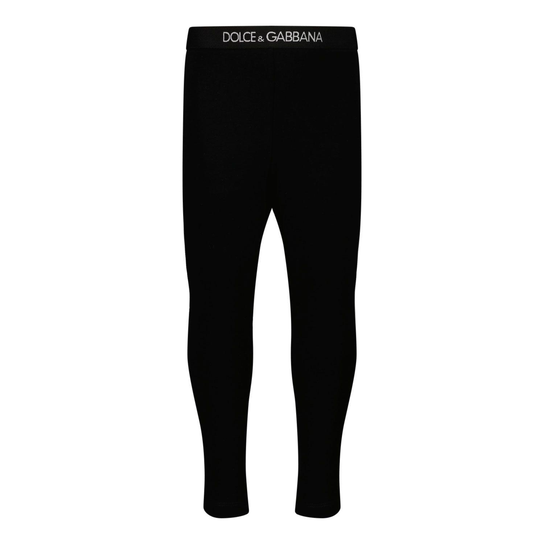 Picture of Dolce & Gabbana L2JP3J G7BGA baby legging black