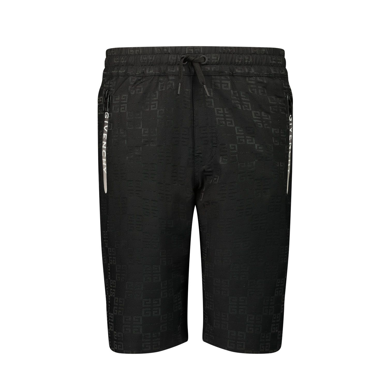 Picture of Givenchy H24127 kids shorts black