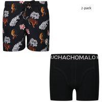 Picture of Muchachomalo TIGR2062 kids swimwear black
