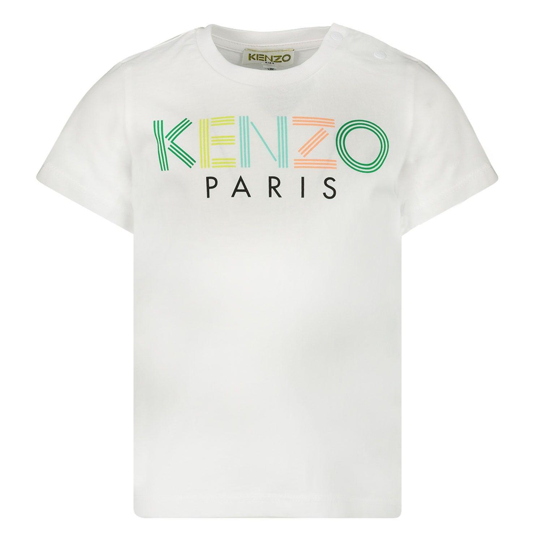 Bild von Kenzo 10617 Baby-T-Shirt Weiß