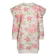 Afbeelding van MonnaLisa 397901R7 babyjurkje off white/roze
