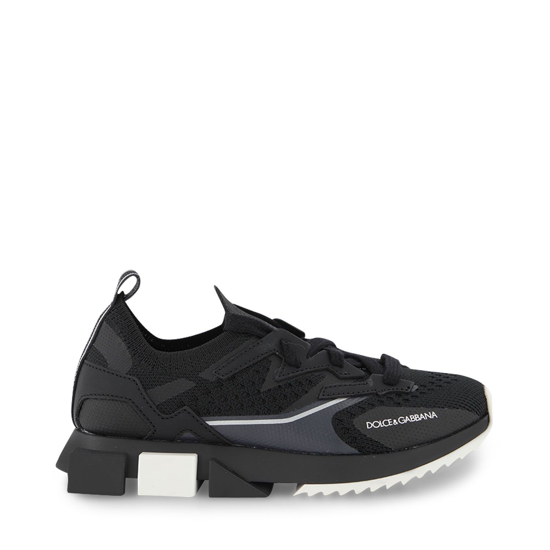 Picture of Dolce & Gabbana DA0952 AW478 kids sneakers black