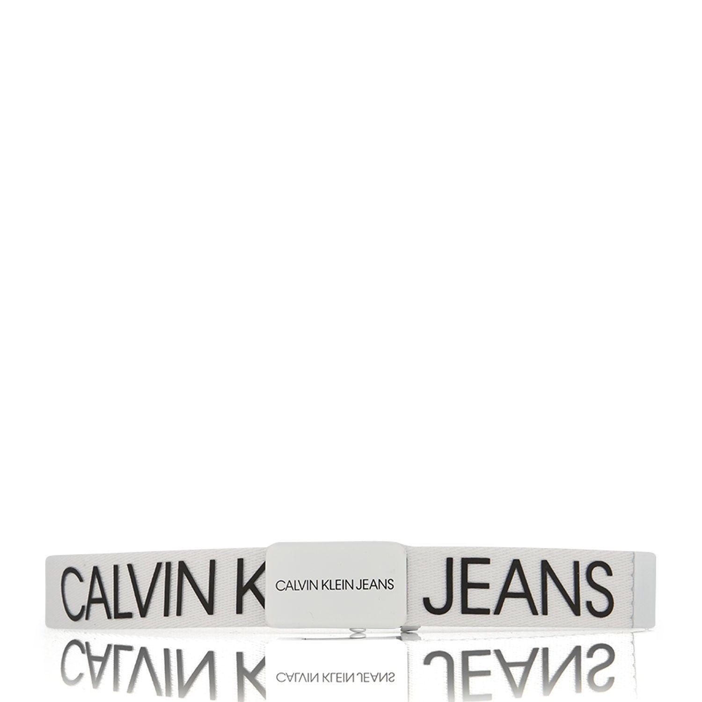 Afbeelding van Calvin Klein IU0IU00110 kinderriem wit