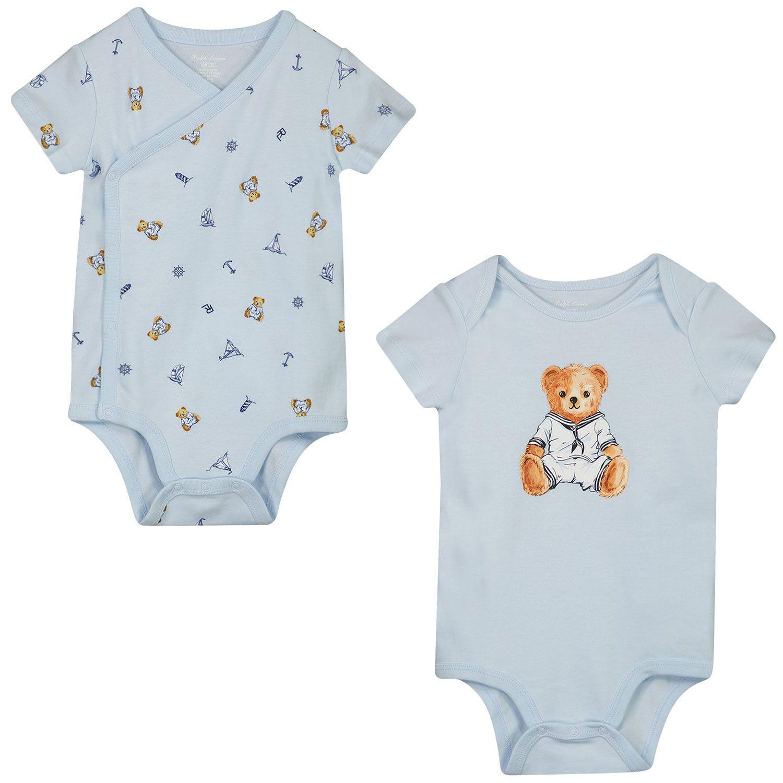 Bild von Ralph Lauren 320834125 Babystrampler Hellblau
