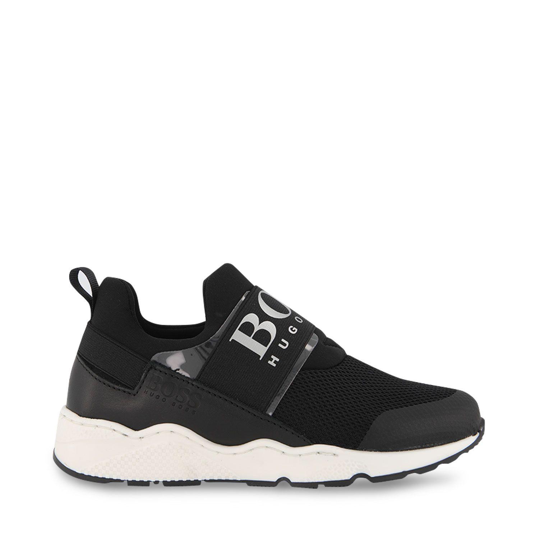 Picture of Boss J29T93 kids sneakers black