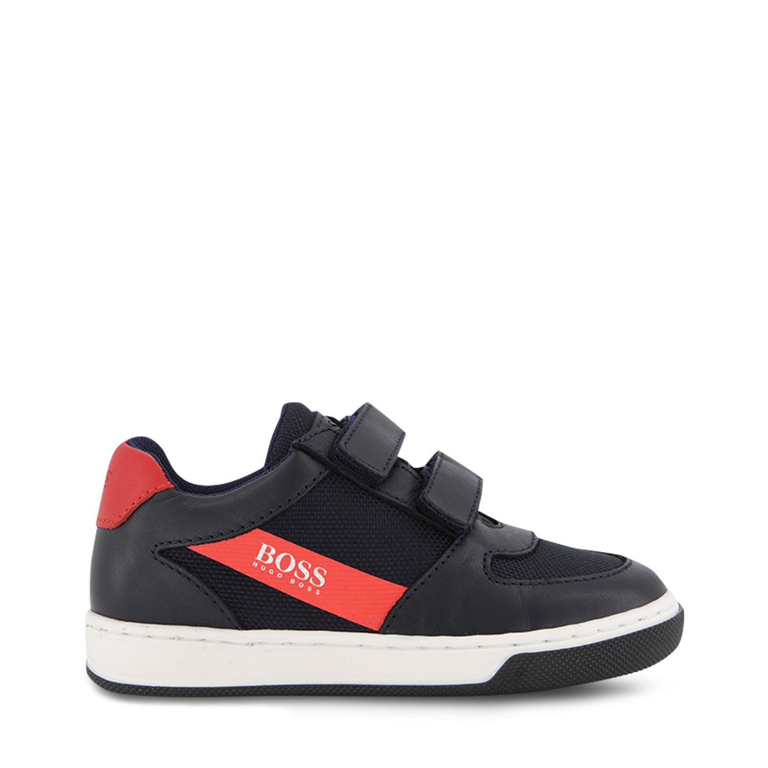 Picture of Boss J09160 kids sneakers navy