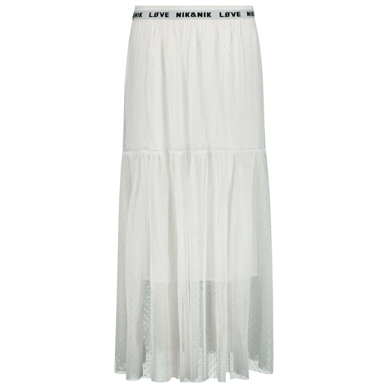 Picture of NIK&NIK G3608 kids skirt off white