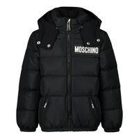 Picture of Moschino MUS01P baby coat black