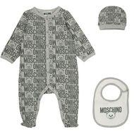 Bild von Moschino MUY03B Babystrampelanzug Grau