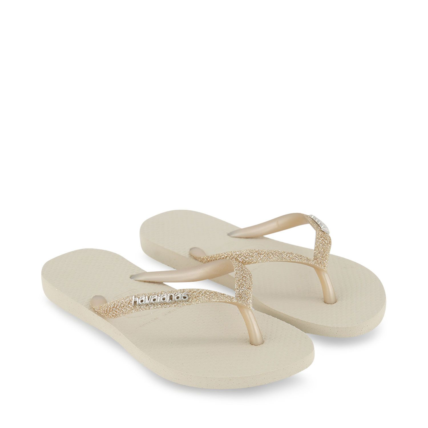 Picture of Havaianas 4146118 kids flipflops gold