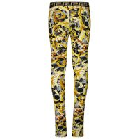 Picture of Versace 1000364 1A01361 kids tights black