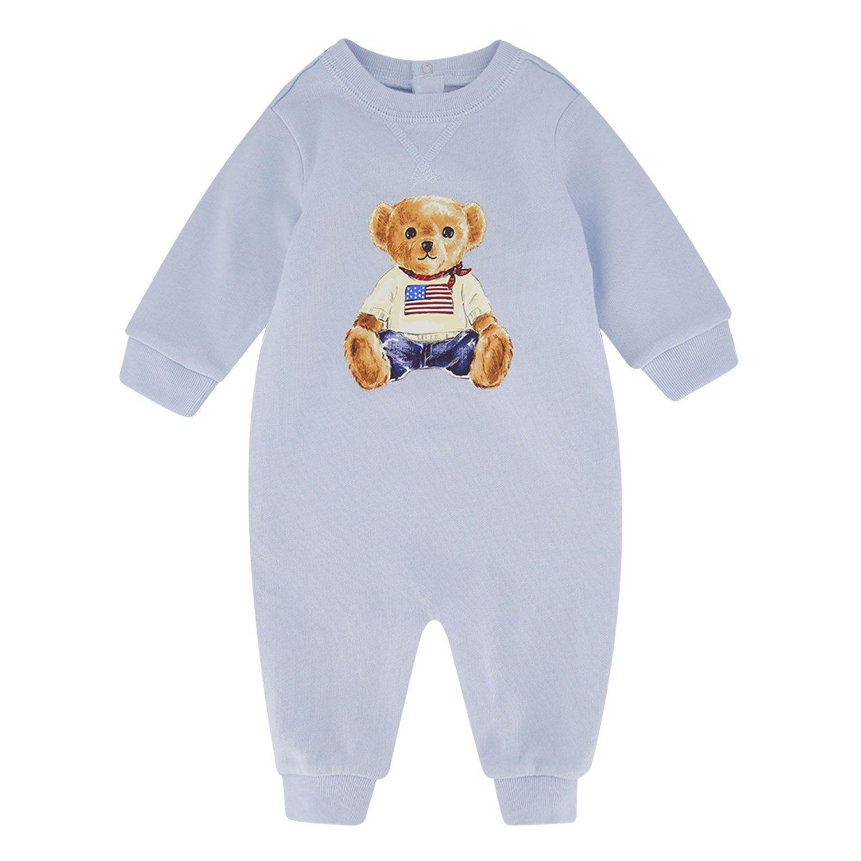 Bild von Ralph Lauren 320799053 Babystrampelanzug Hellblau