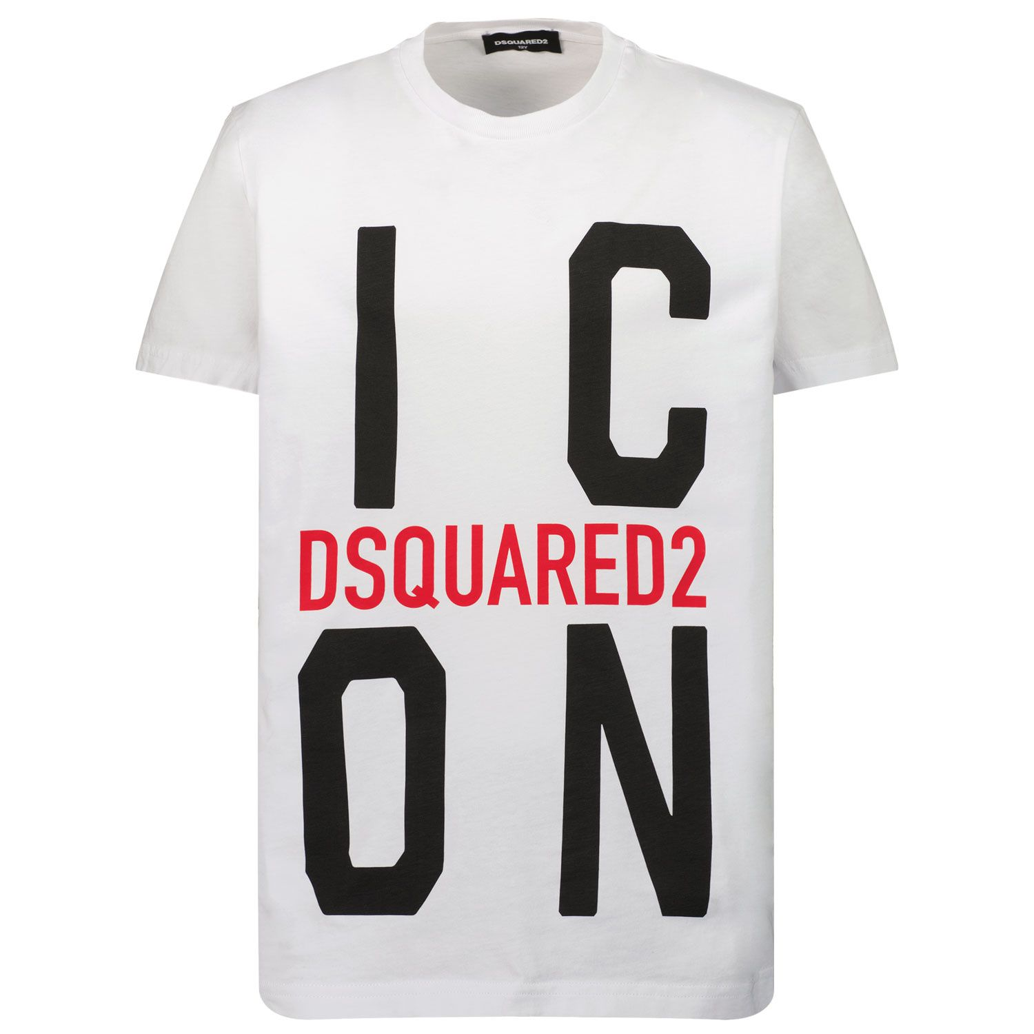 Picture of Dsquared2 DQ0243 kids t-shirt white