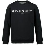 Afbeelding van Givenchy H25145 kindertrui zwart