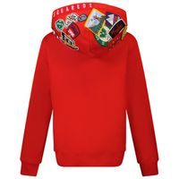 Picture of Dsquared2 DQ0335 kids sweater red