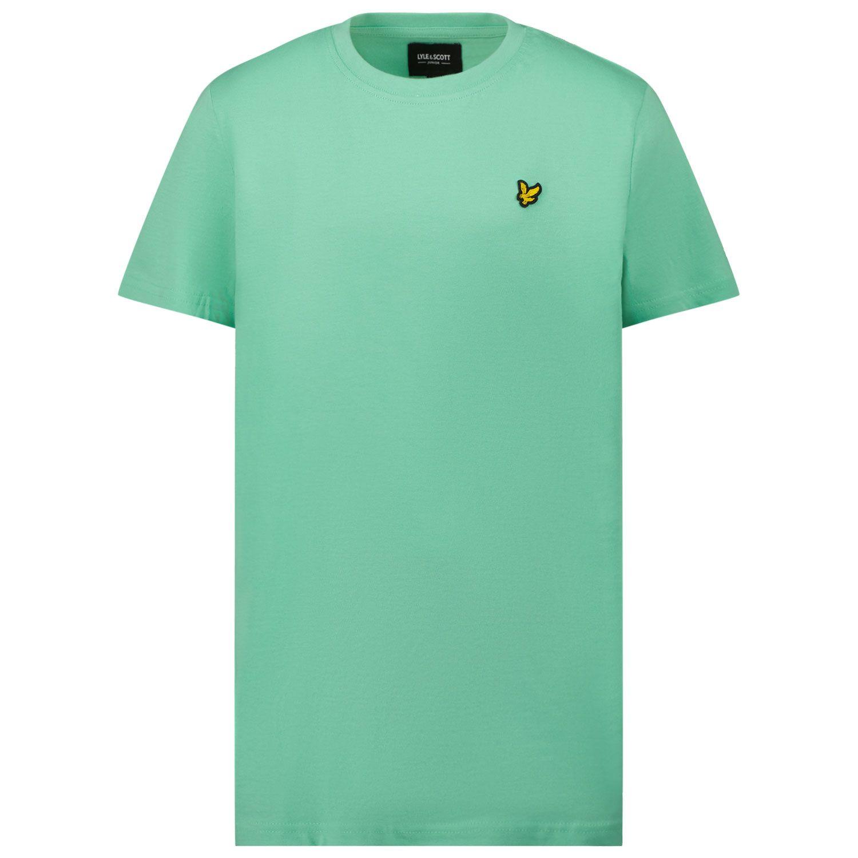 Picture of Lyle & Scott LSC0003S kids t-shirt green