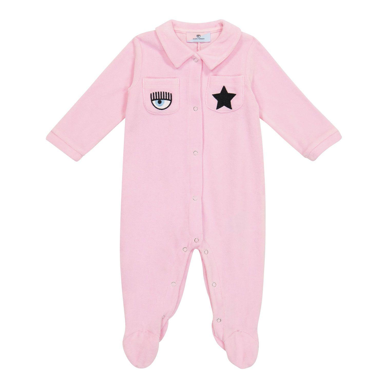 Bild von Chiara Ferragni 558204 Babystrampelanzug Pink