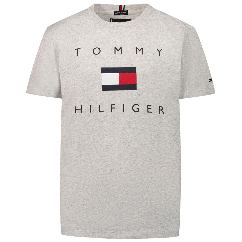 Picture of Tommy Hilfiger KB0KB06523 kids t-shirt grey