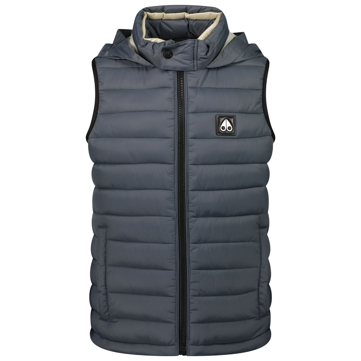 Picture of Moose Knuckles M11UV453 kids bodywarmer grey