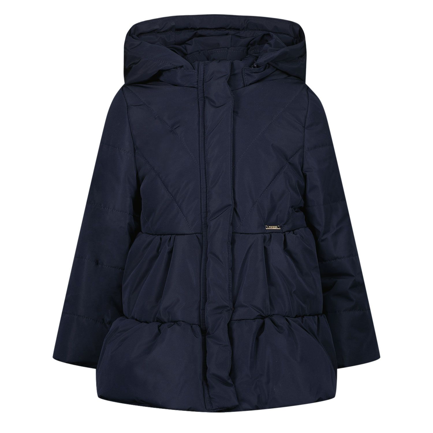 Picture of Mayoral 2438 baby coat navy