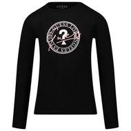 Afbeelding van Guess J1BI19 kinder t-shirt zwart
