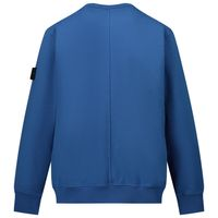 Picture of Stone Island MO731662542 kids sweater cobalt blue