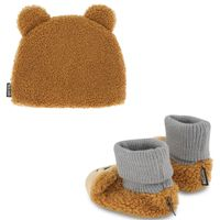 Picture of Moschino MUX03S baby hat brown