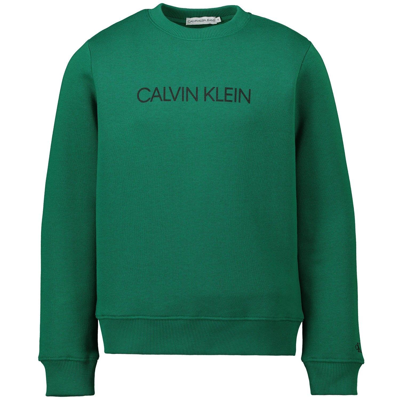 Picture of Calvin Klein IU0IU00040 kids sweater green