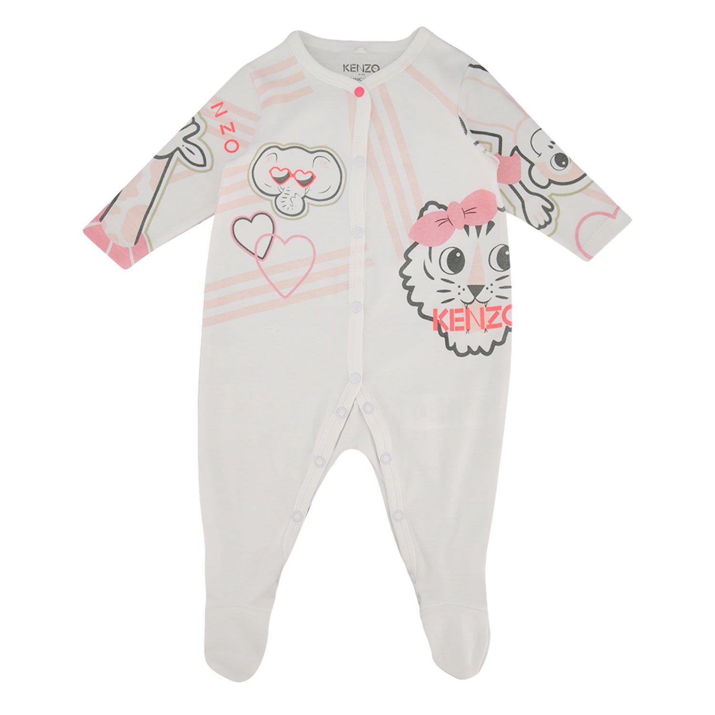 Bild von Kenzo 54003 Babystrampelanzug Weiß
