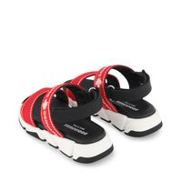 Picture of Dsquared2 66966 kids sandals red