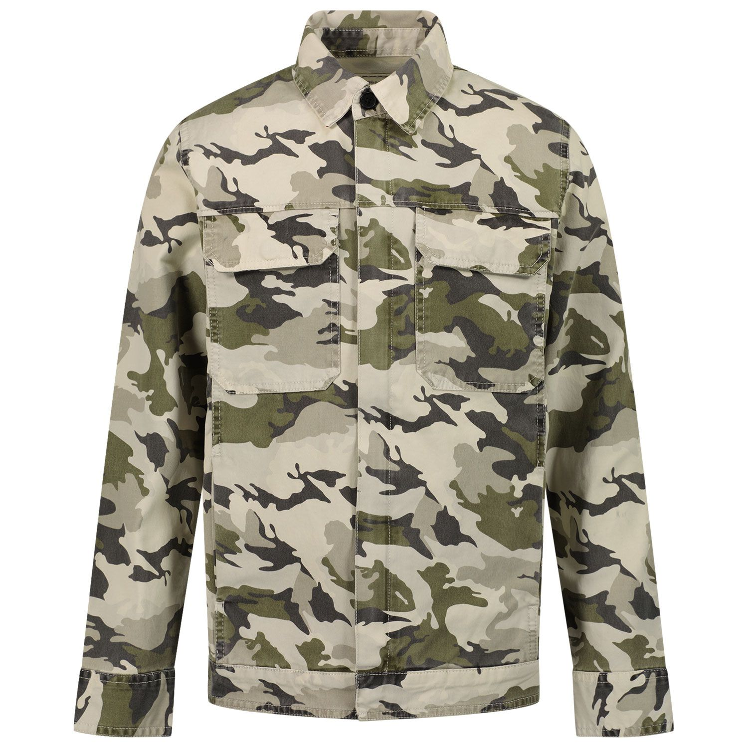 Picture of Zadig & Voltaire X26043 kids jacket army