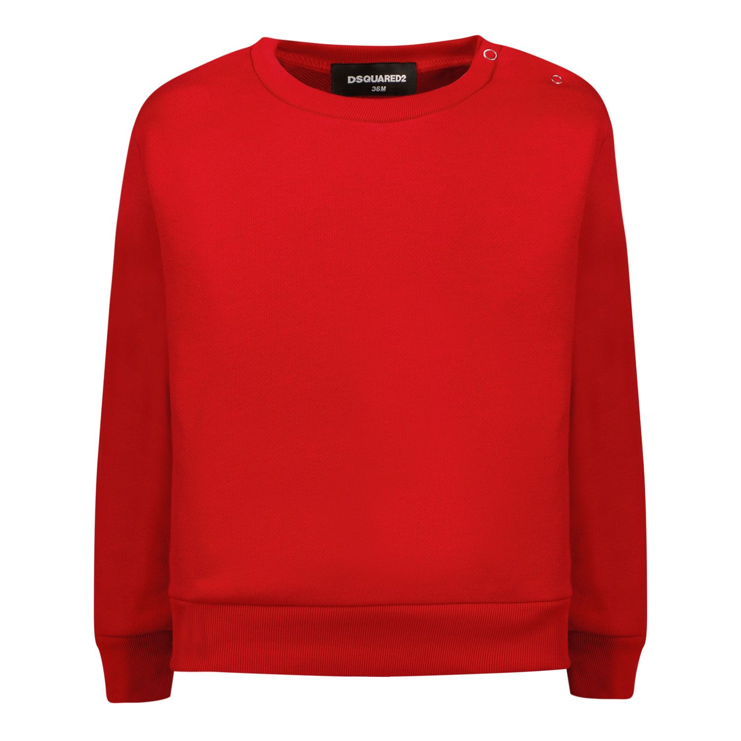 Picture of Dsquared2 DQ0650 baby sweater red
