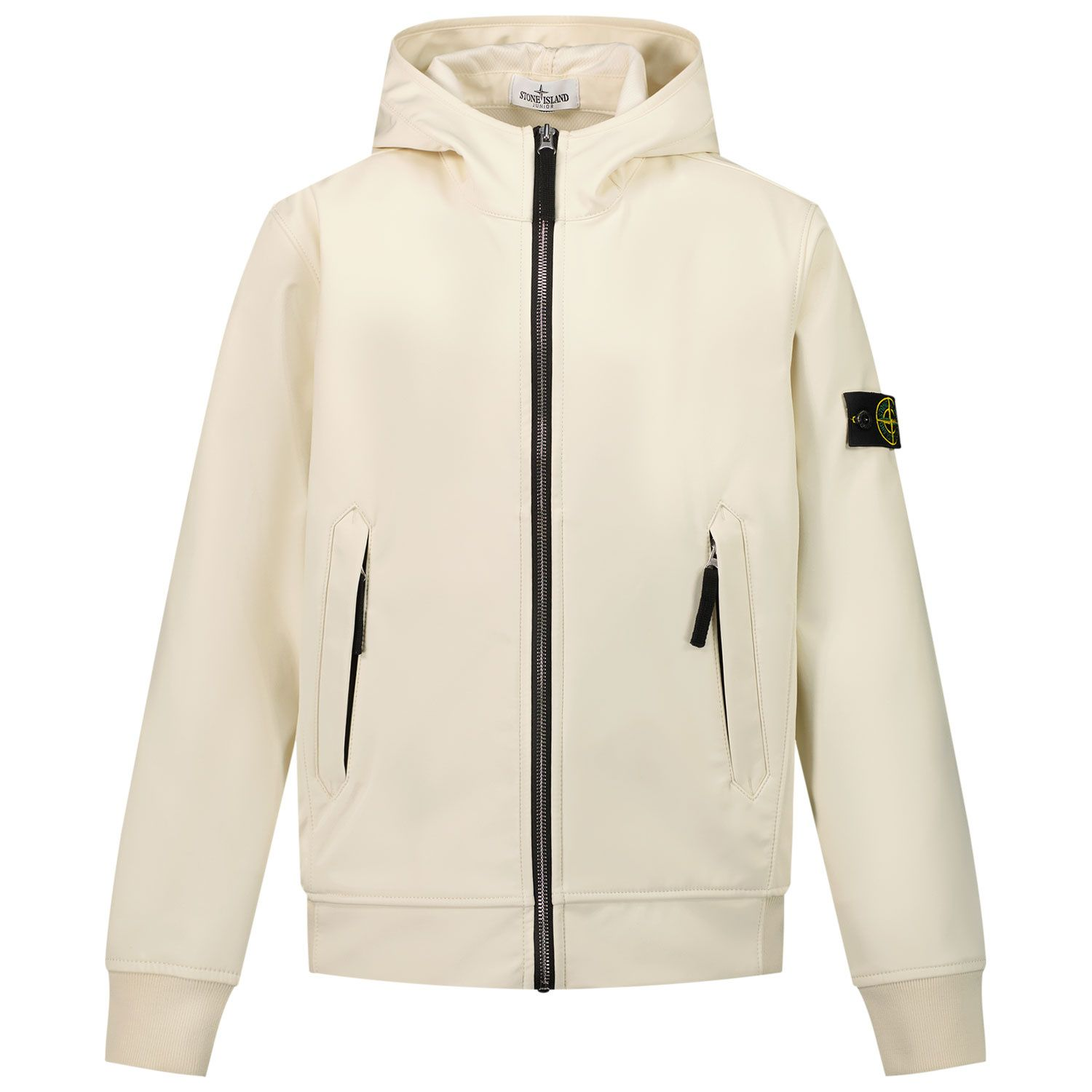 Picture of Stone Island 40134 kids jacket off white