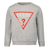 Picture of Guess N73Q10 baby sweater grey