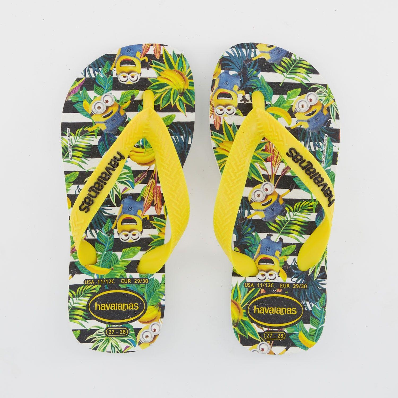 Picture of Havaianas 4133167 kids flipflops yellow