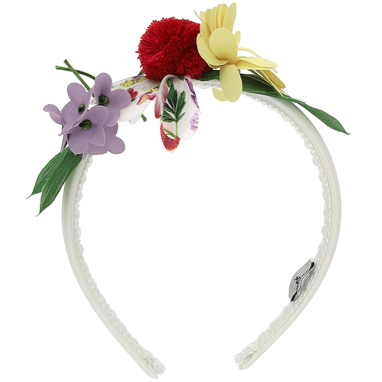 Afbeelding van MonnaLisa 197001 kinder accessoire wit/roze