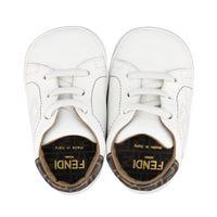 Picture of Fendi BUR083 ADGA baby shoes white