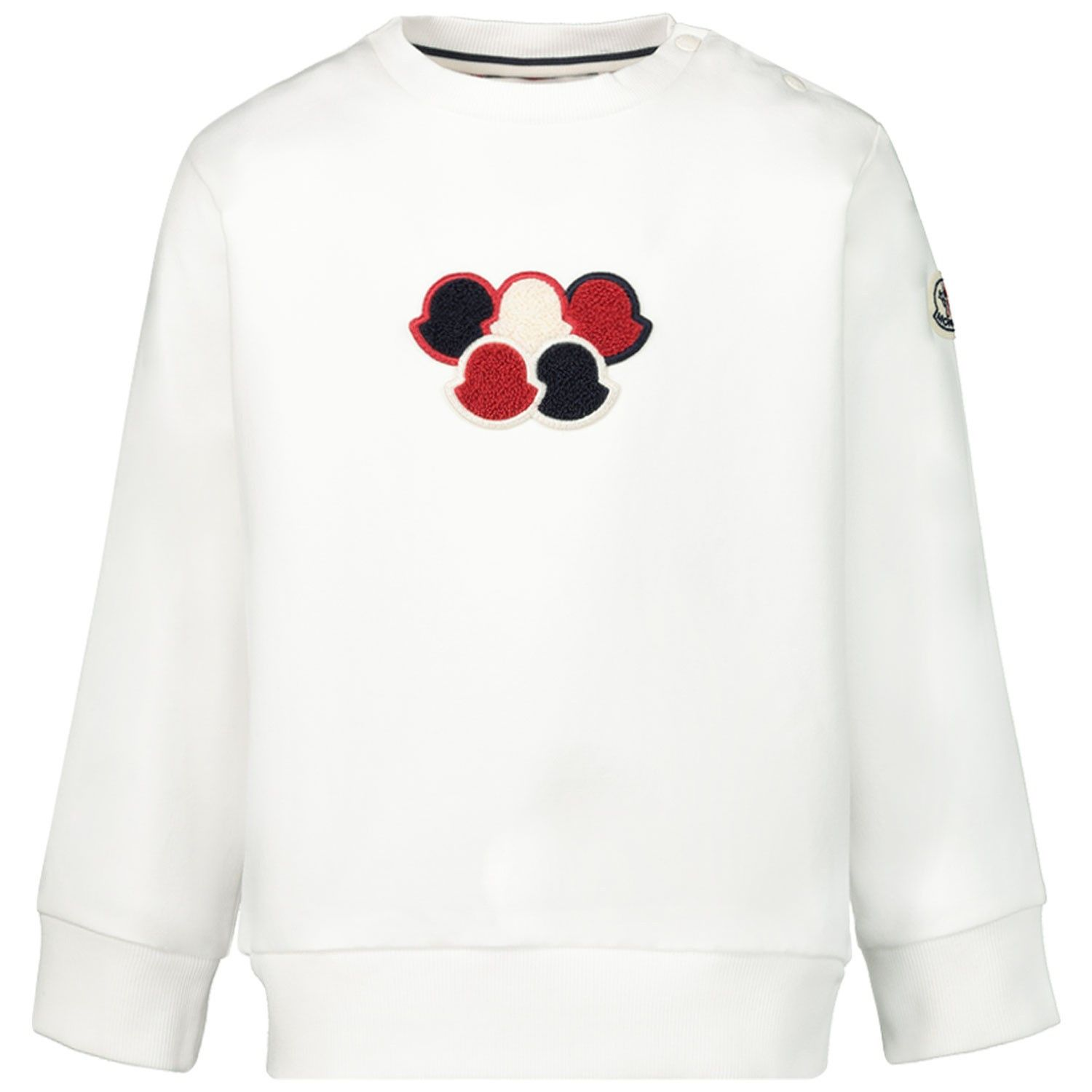 Picture of Moncler 8027100 baby sweater off white