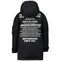 Picture of Dsquared2 DQ046L kids jacket black