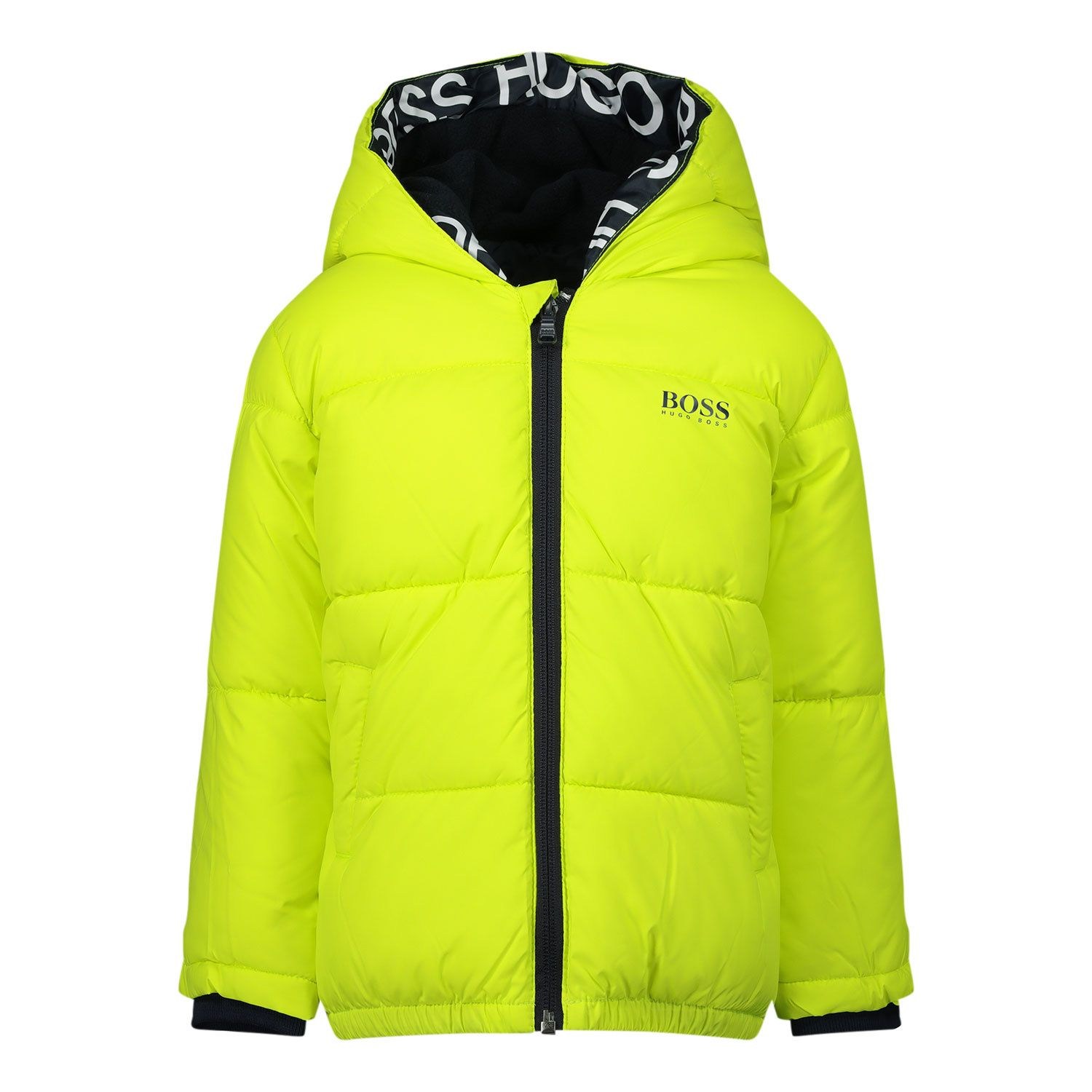 Picture of Boss J06219 baby coat lime